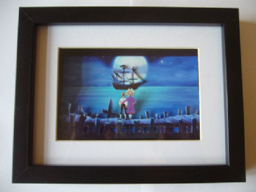 The Secret of Monkey Island 3D Diorama Shadow Box